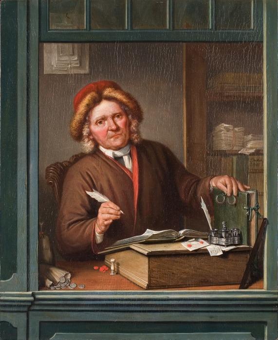 Tibout_Regters_-_De_belastinginner_-_2252_-_Rijksmuseum_Twenthe